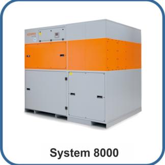 System 8000 bis 2.160m³/h