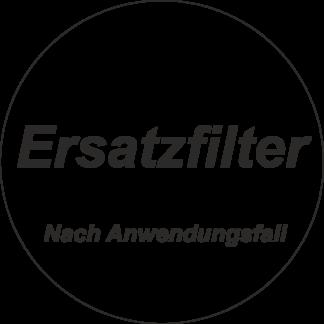 Ersatzfilter nach Anwendungsfall