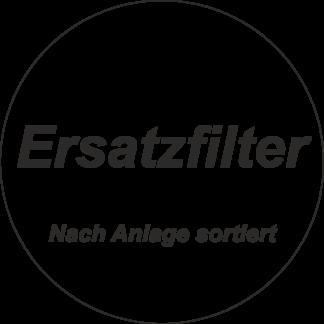 Ersatzfilter nach Anlagentyp sortiert